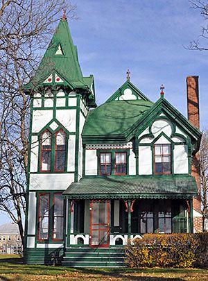 Gothic Revival Homes gothic revival | gothic revival – popular 1840-1880 | architecture