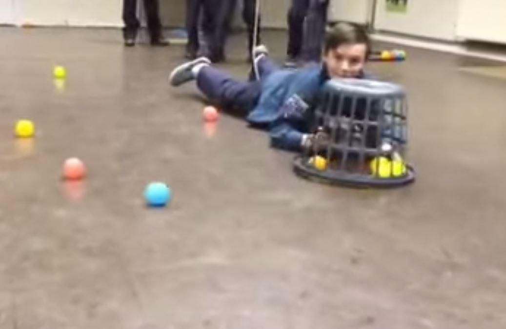 Human hungry hippos video goes viral with 8m views turning