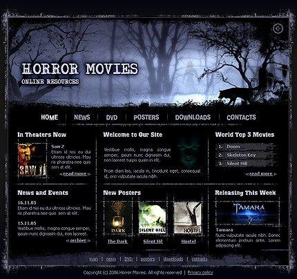 15+ Movie Website Templates