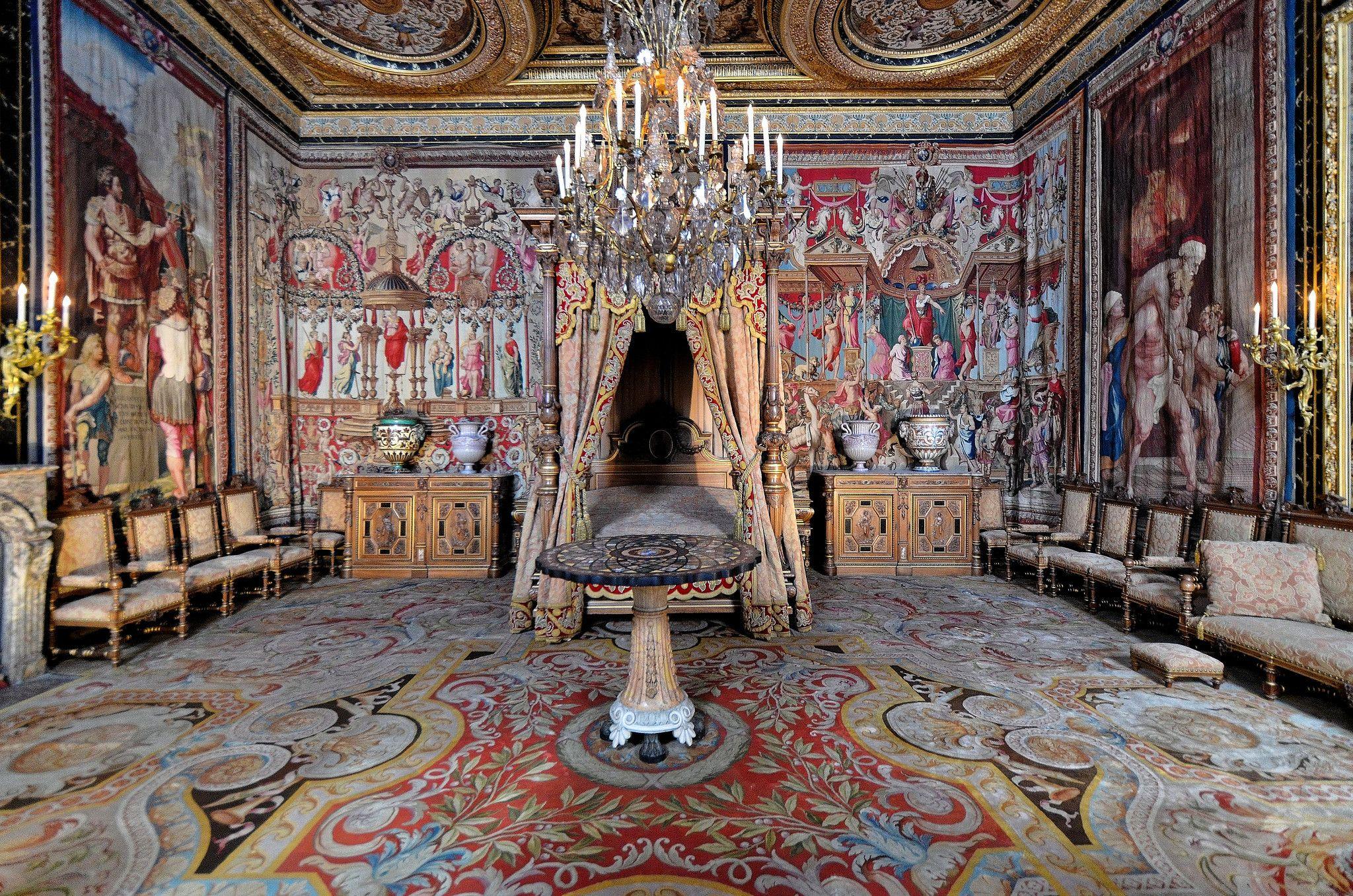 Château de Fontainebleau (Seine et Marne) - Appartement des Reines ...