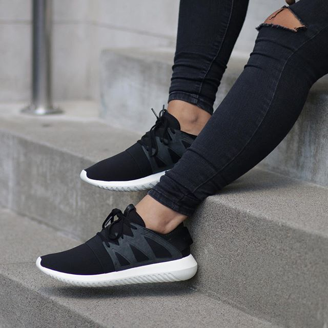 Adidas Tubular Doom (Black & White) End