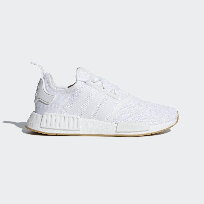e105e27a1844 NMD R1 Shoes Ftwr White   Ftwr White   Gum 3 D96635