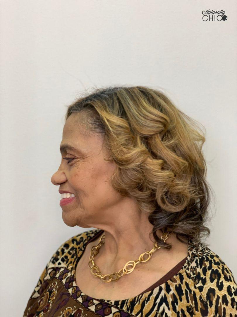 Sill press on natural hair Natural hair salons