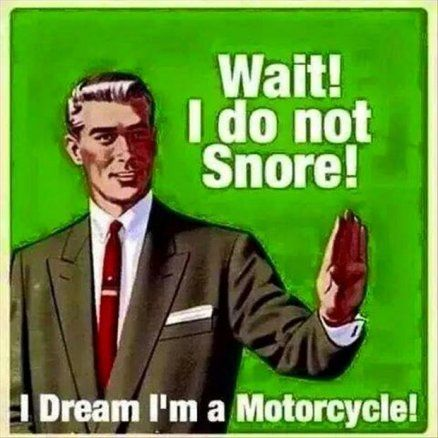 I'm a motorcycle.