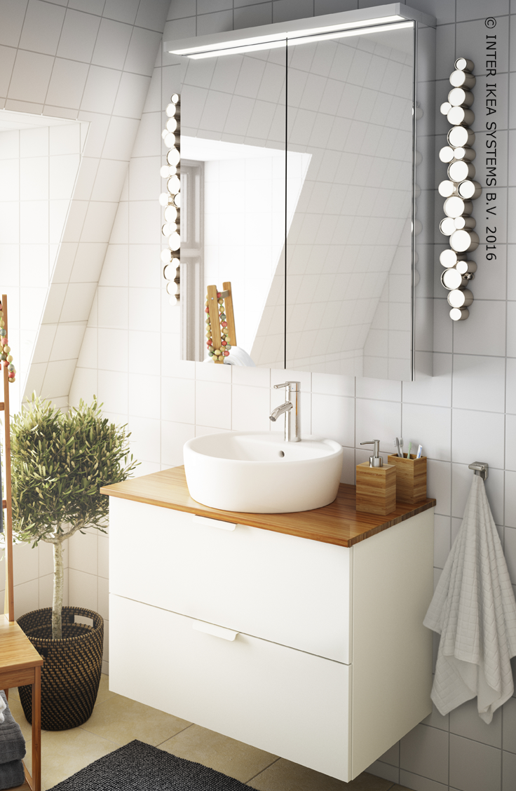 Wastafel ikea ann 102540 ontwerp inspiratie for Kastje onder wastafel toilet
