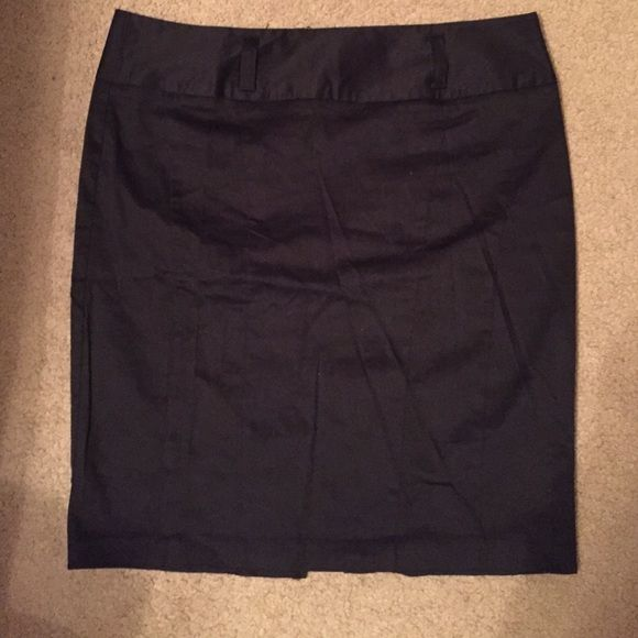 Brand new high wasted black pencil skirt Formal black skirt. Goes to your knees. Great for meetings or interviews. Never worn. Belt loops and small slit in the back Charlotte Russe Skirts Pencil