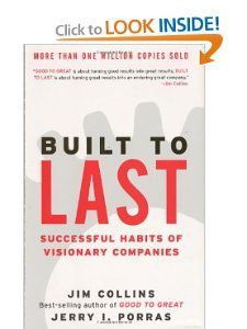 Built to Last: Successful Habits of Visionary Companies: Jim Collins, Jerry I. Porras: 9780060566104: Amazon.com: Books