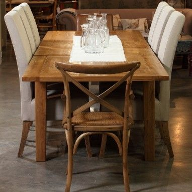 Hambling Dining Collection Large 2 Central Leaves Table