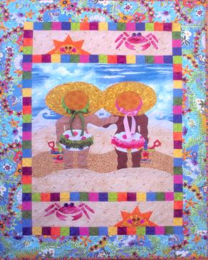 Quilt Patterns For Baby | Barbie's Bug Applique Quilt Pattern ... : baby quilt applique patterns - Adamdwight.com