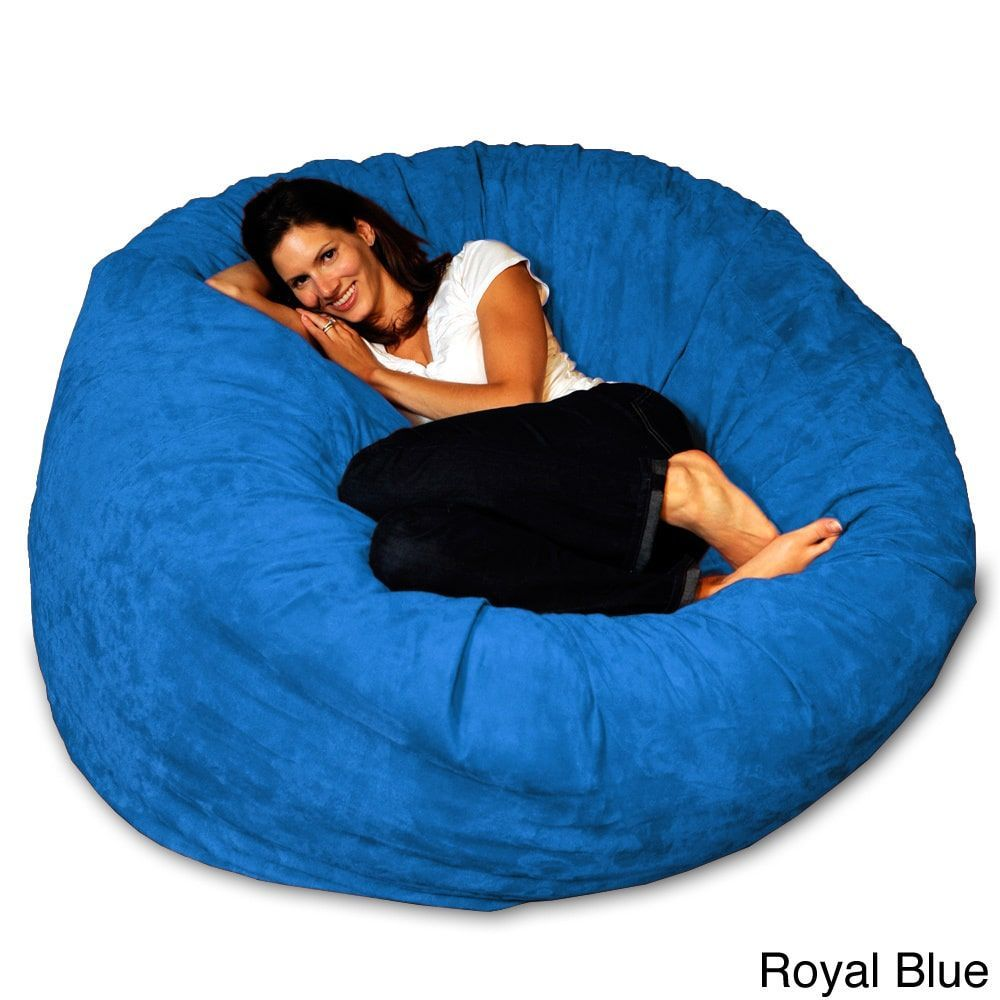 Marvelous 5 Foot Memory Foam Bean Bag Chair In 2019 Patty Large Alphanode Cool Chair Designs And Ideas Alphanodeonline