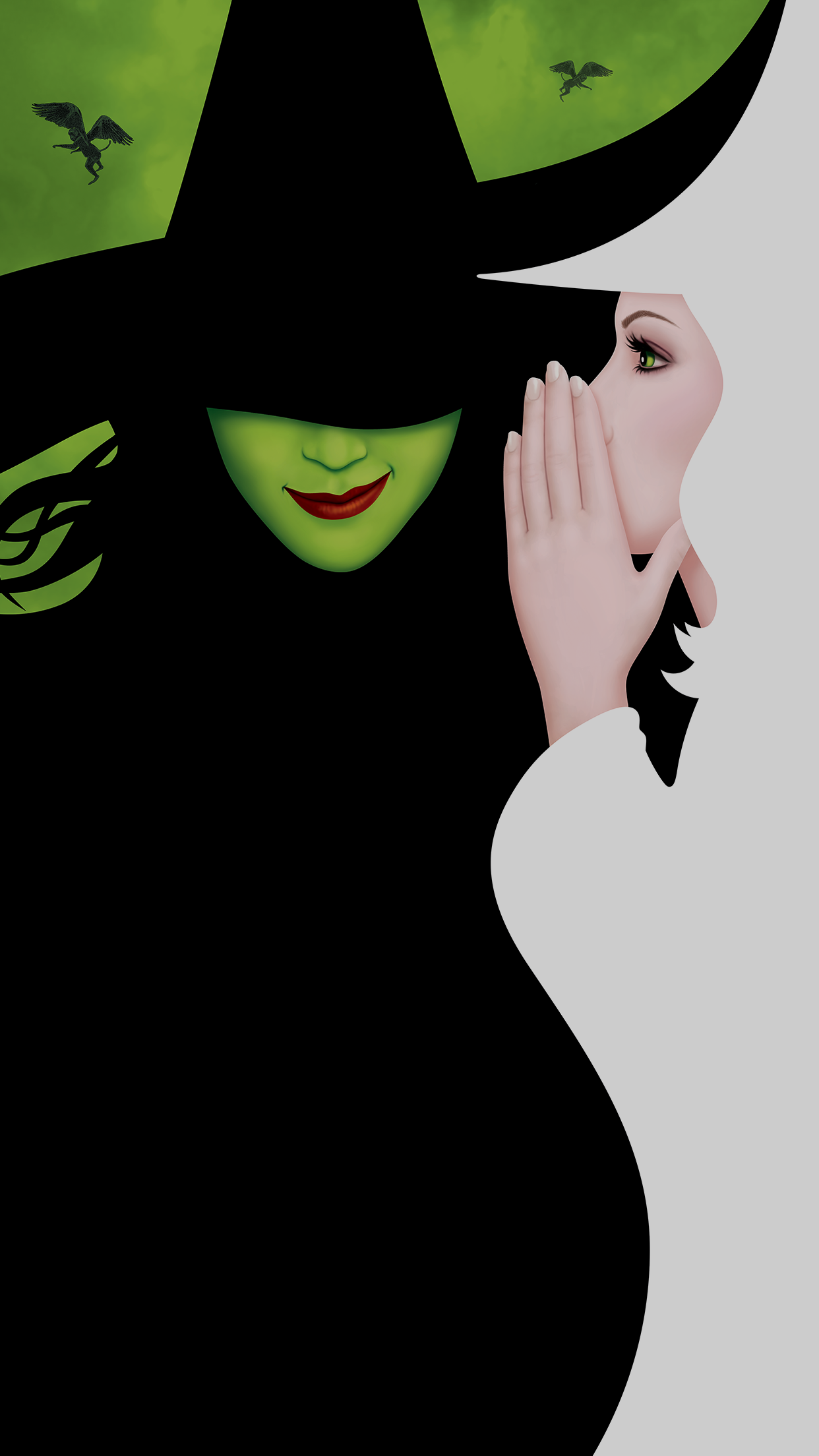 wicked iphone wallpaper