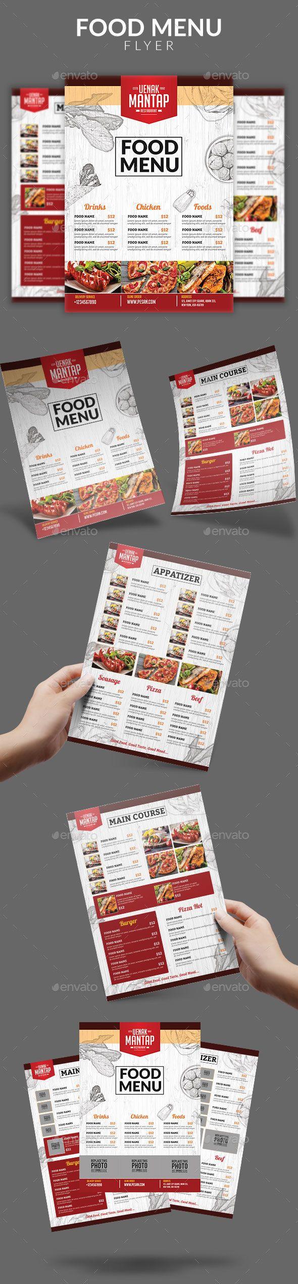 Restaurant Food Menu Pinterest Grilled Hamburgers Lunch Menu - Creative menu design templates