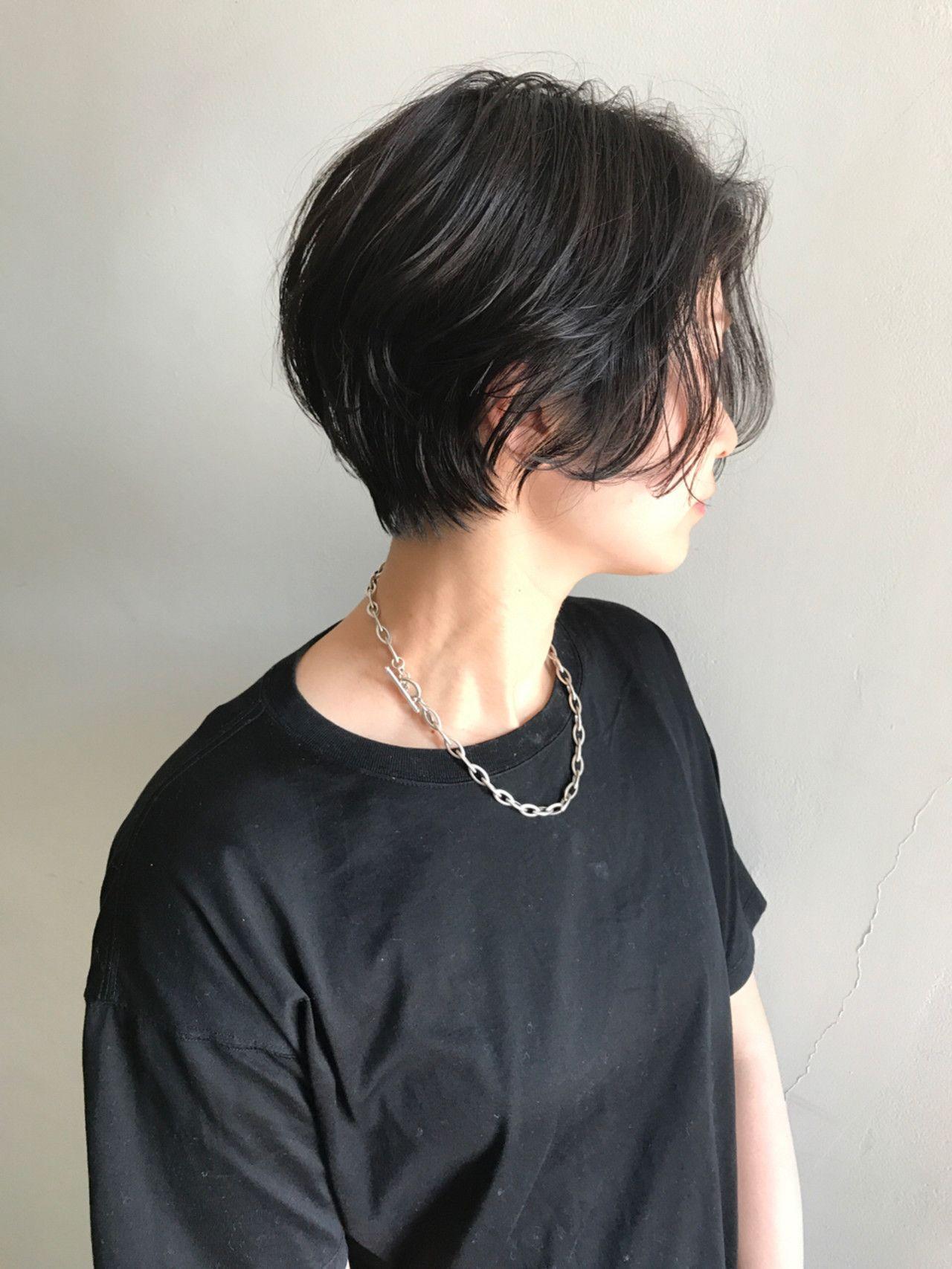 ストリート かっこいい ショート ラフ×NOESALON×祖父江基志×389682【HAIR】