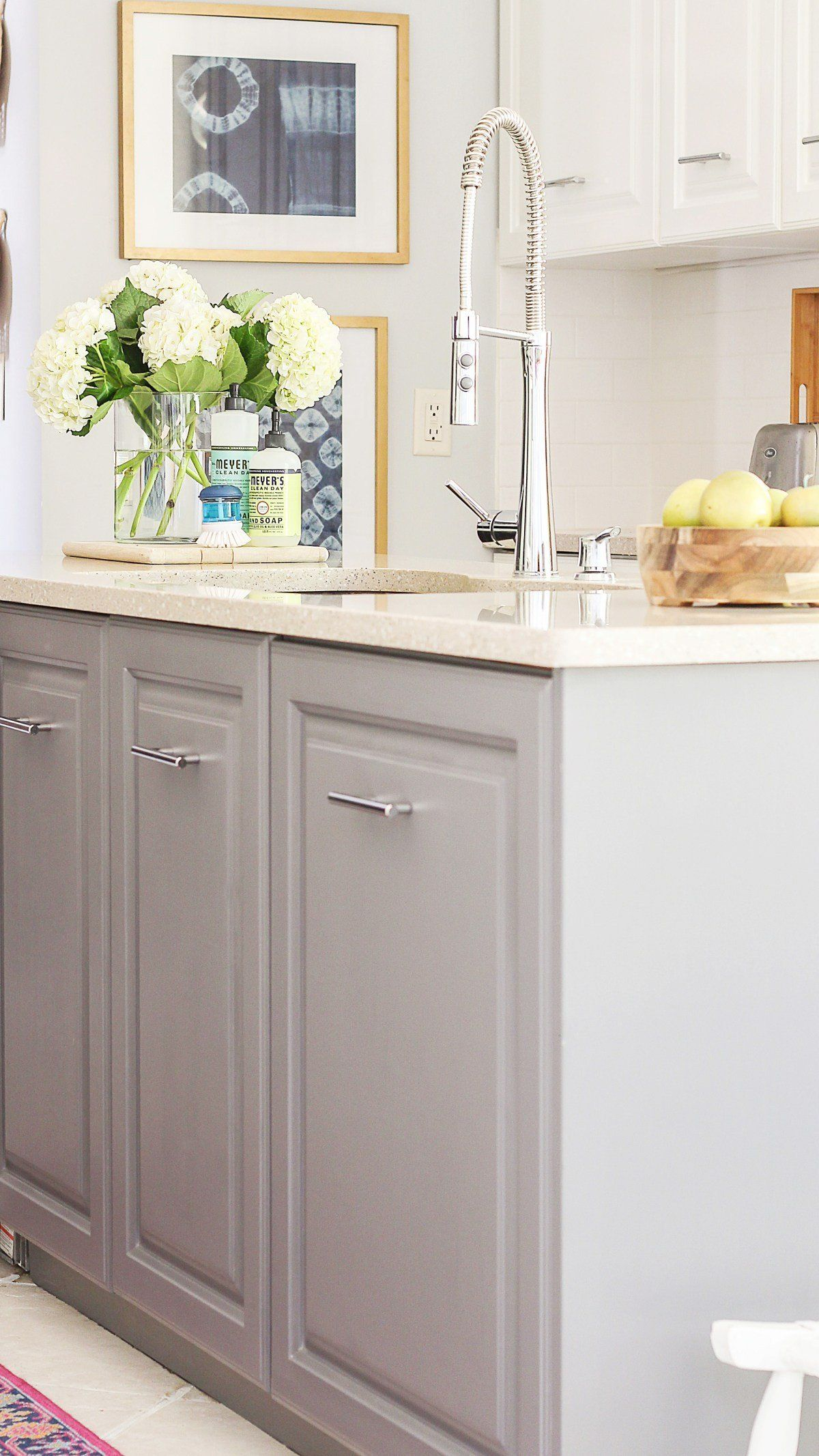 Wood and Painted Kitchen Cabinet Inspirational A Review Of ...