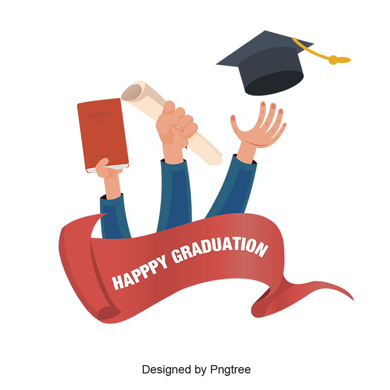 Academic Cap Graduation design, Happy graduation, Free