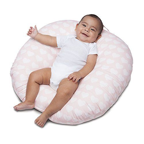 Boppy Newborn Lounger Pink Hearts For Sale Baby Pillows Baby Bouncer Breastfeeding Pillow