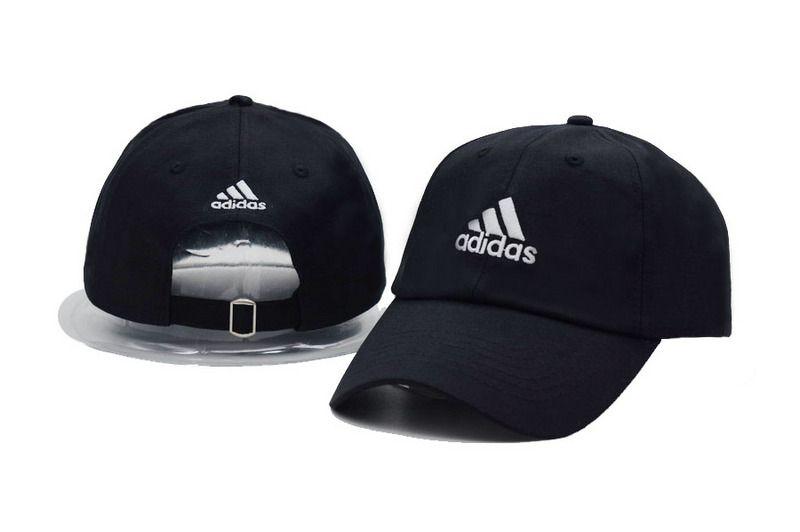 db2e0c43206 Men s   Women s Adidas Training Performance 3-Stripes Adjustable Baseball  Dad Hat - Black   Red