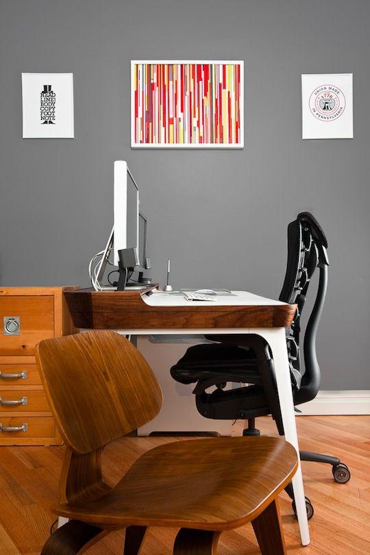 Nick Keppol\u0027s Picture Perfect Brooklyn Office Desks, Apartment