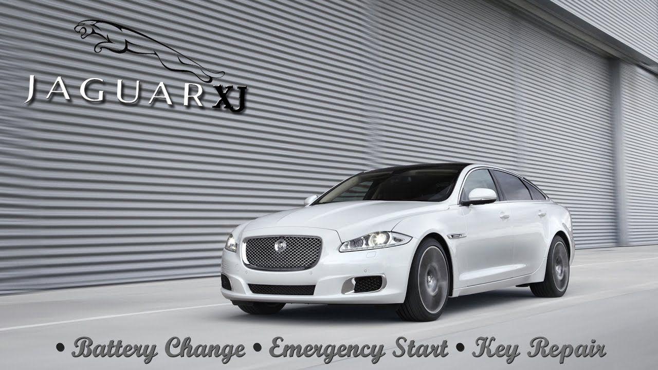 Jaguar Xj Remote Key Fob Battery Change Emergency Start Repair Http