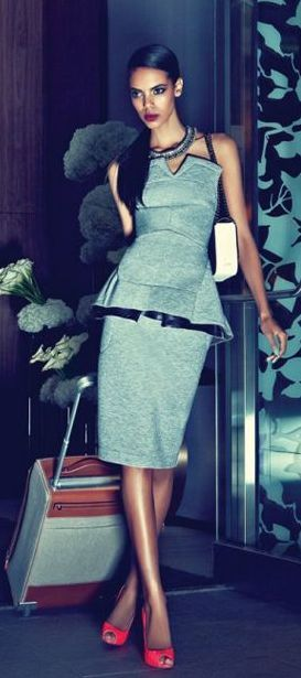 Grace Mahary Fashion Magazine.
