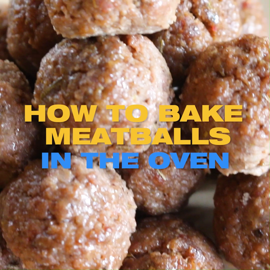 Photo of How to make oven baked Meatballs
