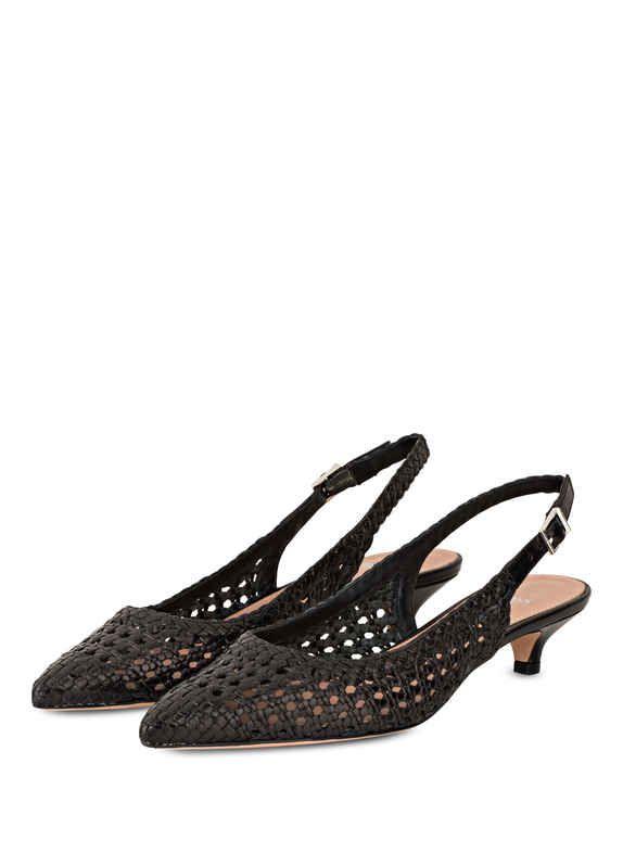BOSS EDDIE SLING - High heels - black Y3S732uP