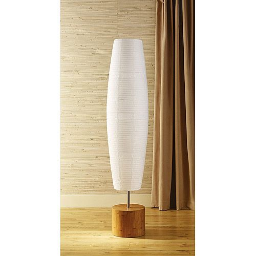 Paper Shade Floor Lamp Alluring Walmart Paper $38 Online Pick Up At Store And Apparently $29 In Review