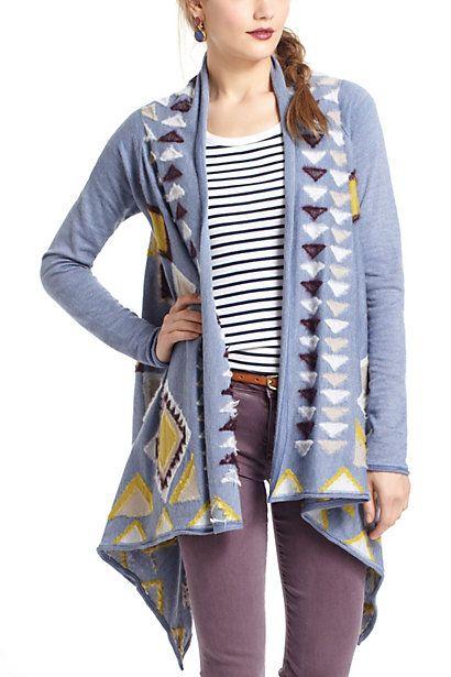 Southwest Blanket Sweater #blanketsweater
