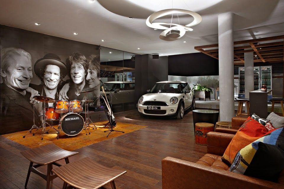 Garagens modernas integradas a rea de lazer e at a sala for Tecnicas de coccion modernas
