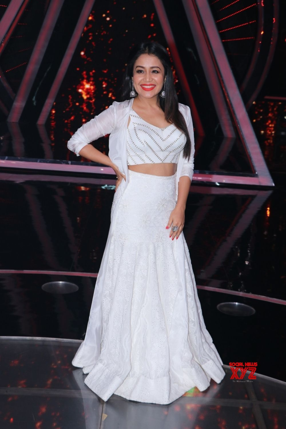 Mumbai Indian Idol 10 Neha Kakkar Social News Xyz Neha Kakkar Dresses Designer Dresses Indian Designer Party Wear Dresses