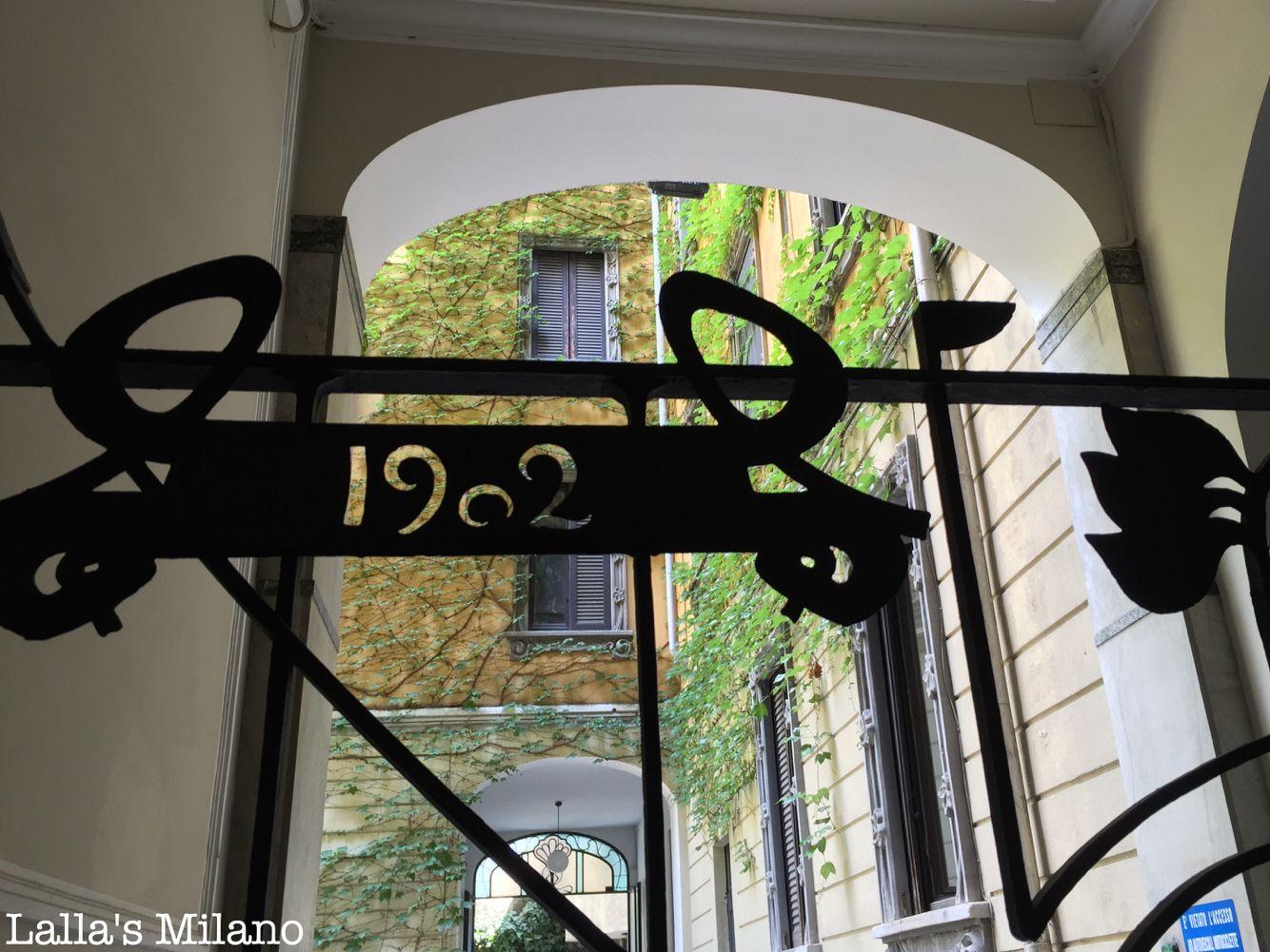 Casa Balzarini (1902), arch. Fermini, via Pisacane 16, Milano ...