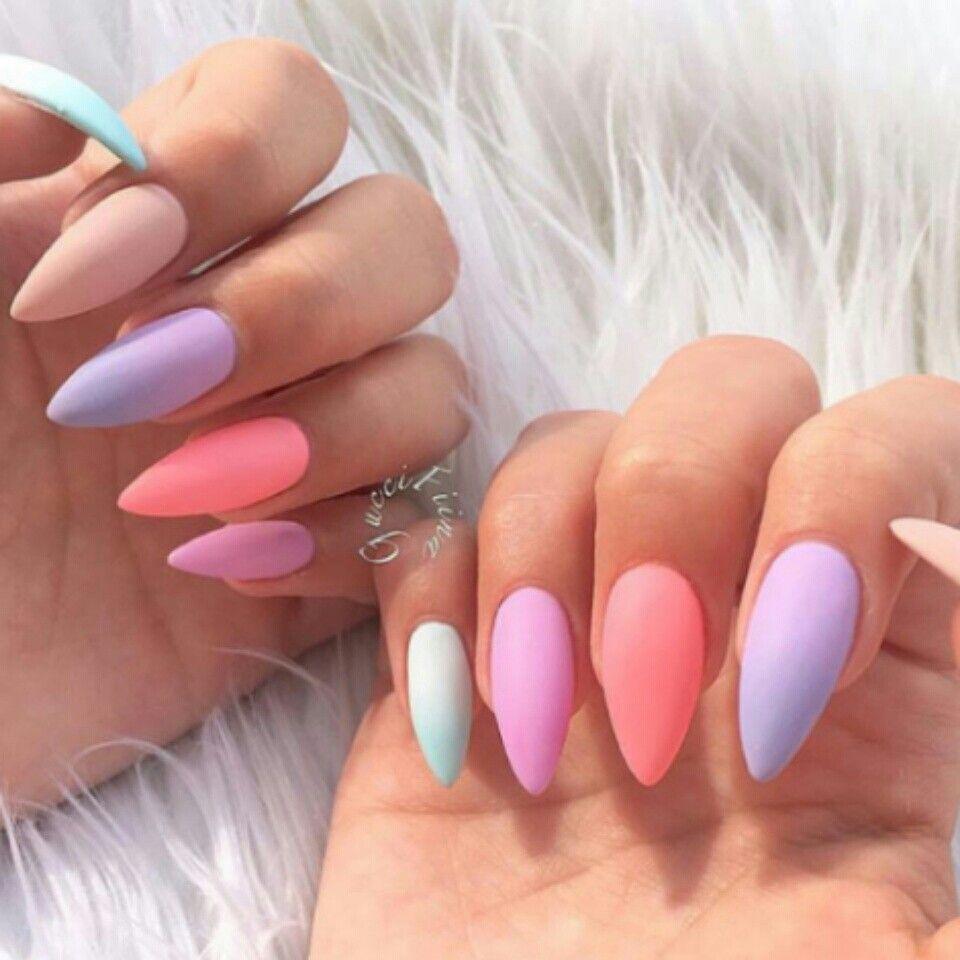 15 Diseños De Uñas Con Colores Pastel Para Sacar Tu Lado