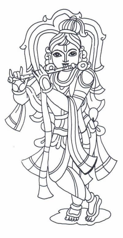 Krishna Kerala Mural Painting Art Drawings For Kids Krishna Painting