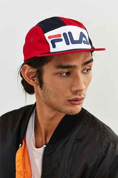 e8c232bf610 FILA + UO 5-Panel Hat - Urban Outfitters