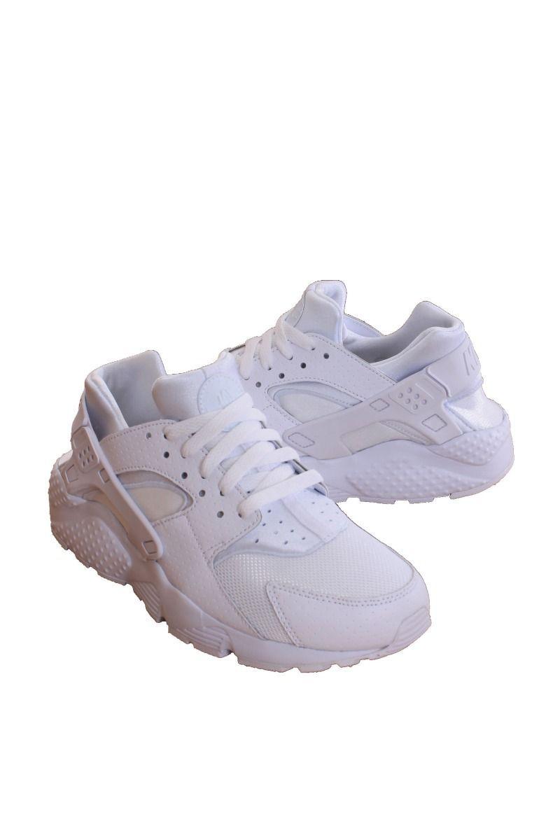 90d62f2e27 Nike Kids Grade School White/Pure Platinum/White Huarache Run (Gs) 654275