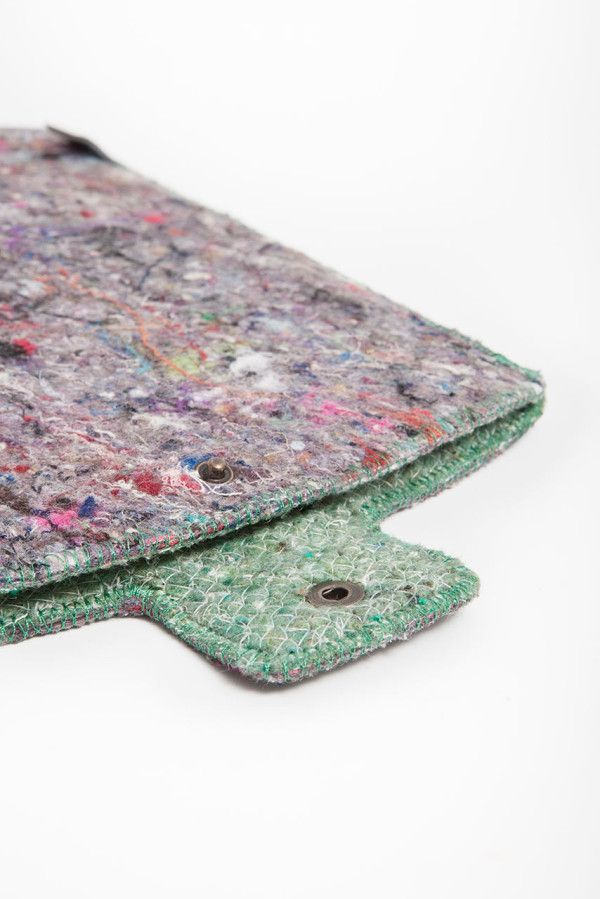 Shred Tech Cases Made From 100 Recycled Textile Waste Textile
