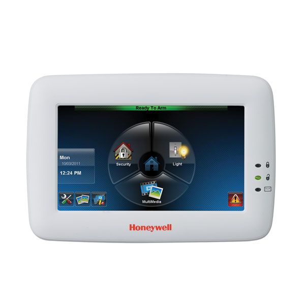 Honeywell 6280S Touch Screen Keypad | Honeywell Hardwired Security