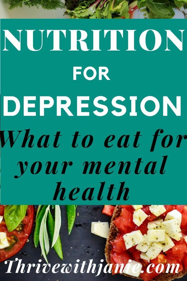 Depression Nutrition: Food that Improves Mood and Mental Health – Thrive With Janie