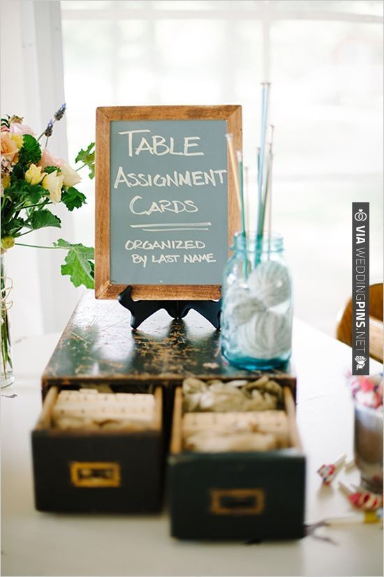table assignment ideas library card catalog or as a guest book message center