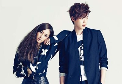 Fashion Korea: Crystal and Lee Jong-suk