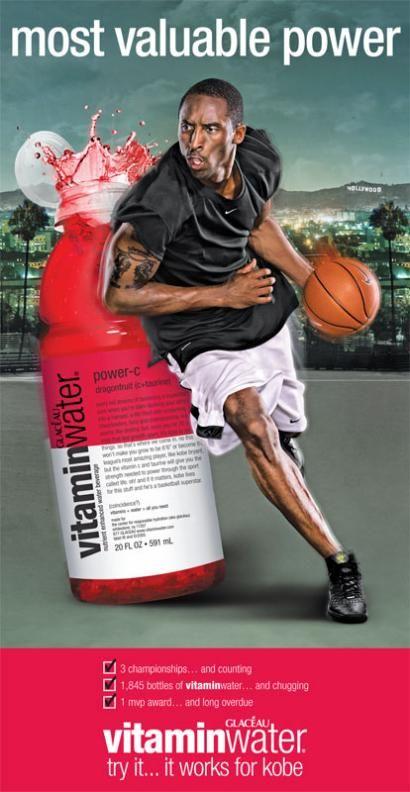 Image result for kobe bryant vitamin water ad