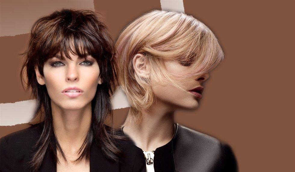 Tagli capelli lunghi scalati anni 80