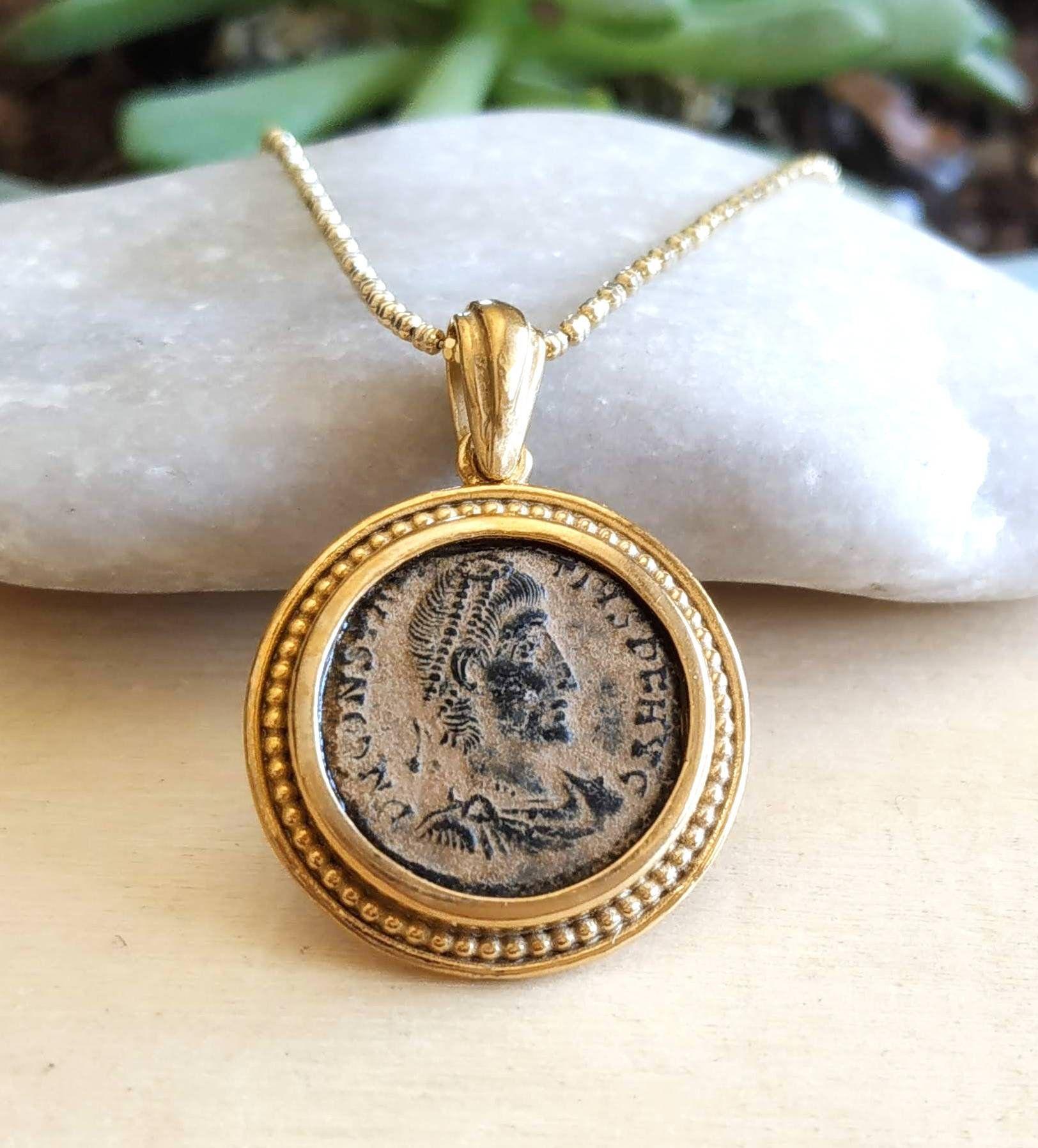 roman coin jewelry