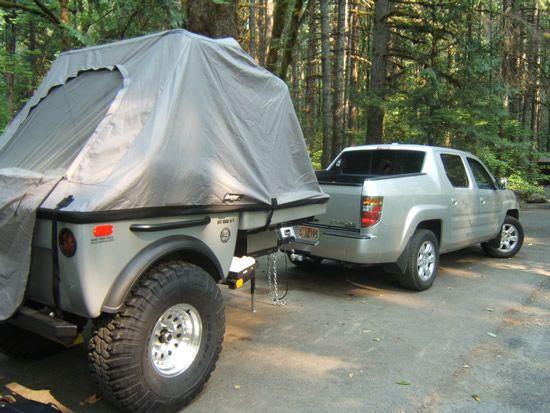 Honda Ridgeline Camper Camping Trailers And All Terrain