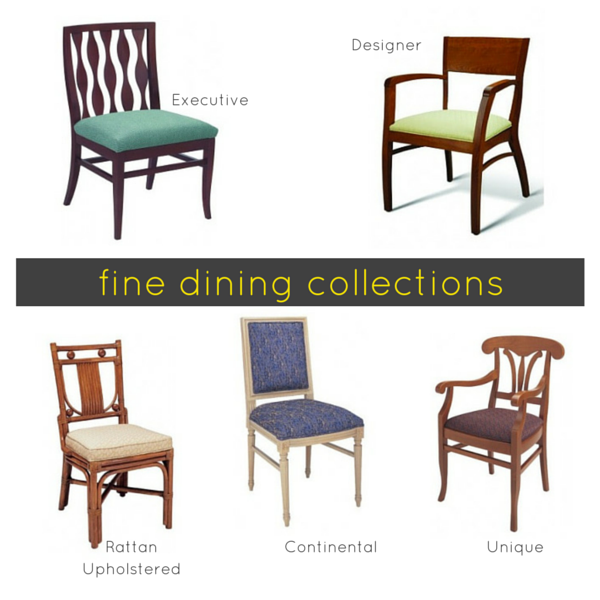Commercial Dining Room Tables Endearing Our Fine Dining Chairs And Bar Stools Set The Bar For Grade A Design Ideas