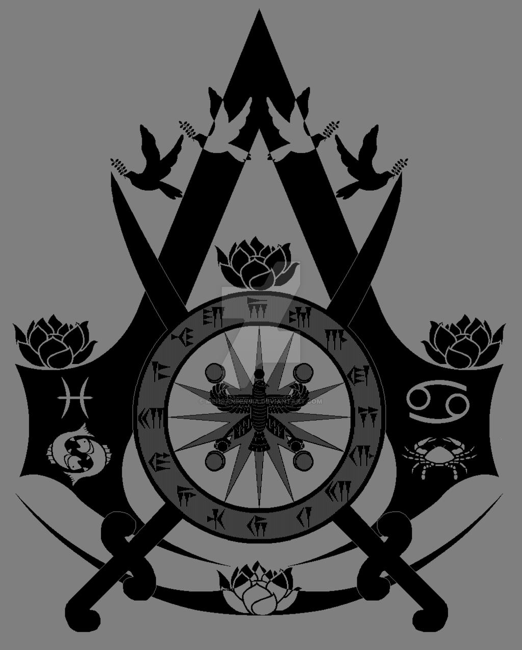 modern assassins creed logo png