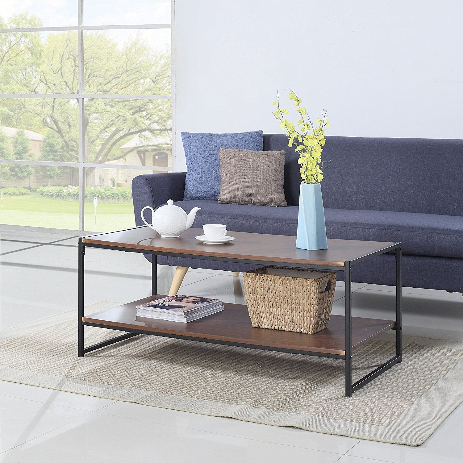 31 cheap coffee tables that cost under 100 from amazon brown these cute cheap coffee tables are all from amazon and these coffee tables are all geotapseo Gallery