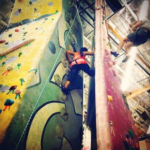 Climb on! Endure indoor rock climbing at Phoenix Rock Gym