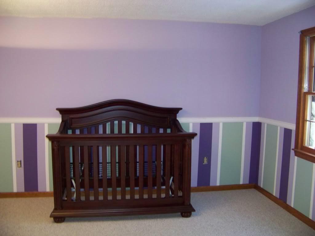 Chair Rail Molding Nursery