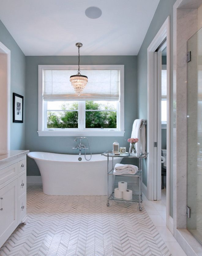 Best Colors For Spa Bathroom